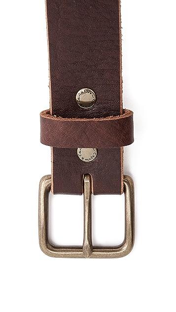 Caputo & Co. Laced Leather Belt