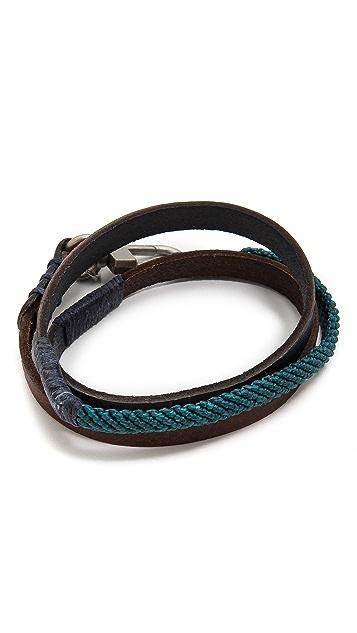Caputo & Co. Triple Wrap Bracelet