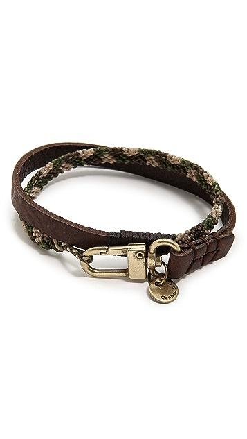 Caputo & Co. Double Wrap Bracelet