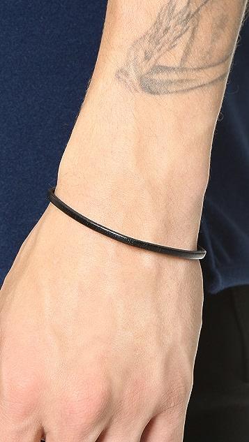 Caputo & Co. Easy Leather Bracelet