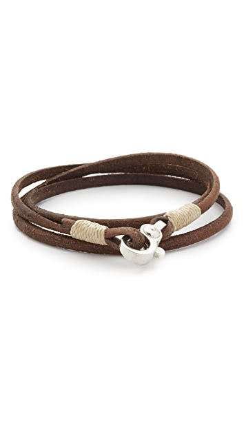 Caputo & Co. Chunky Triple Wrap Bracelet