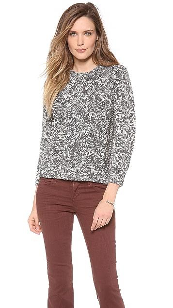Cardigan Estelle Marled Sweater