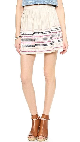 Cardigan San Cristobal Engineered Skirt