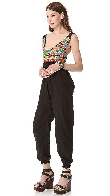 Carolina K Embroidered Jumpsuit
