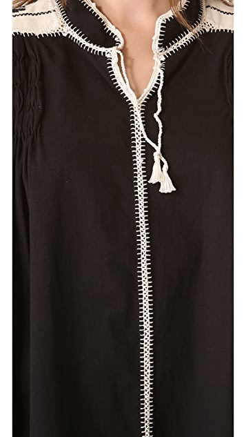 Carolina K Oaxacan Crochet Dress