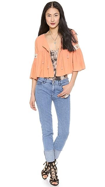 Carolina K Bell Top / Jacket