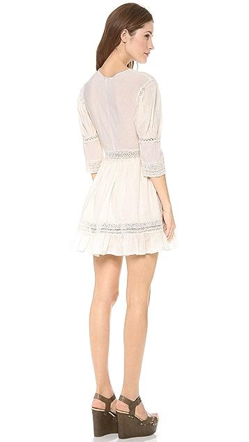 Carolina K Crochet Mini Dress