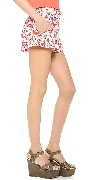 Carolina K Printed Shorts