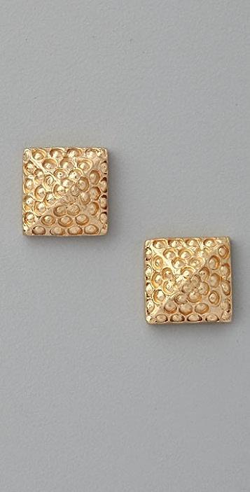 Carol Marie Pyramid Earrings