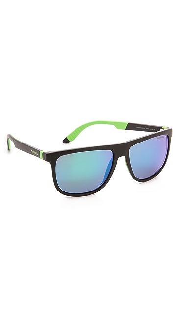 Carrera 5003 Sunglasses with Mirrored Lenses