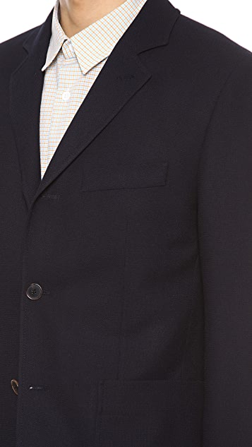 Carven Panama 3 Button Blazer