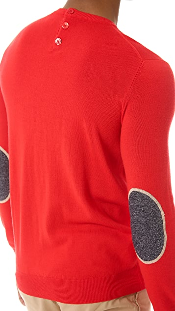 Carven Patch Sweater