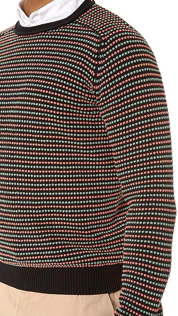 Carven Micro Pattern Sweater