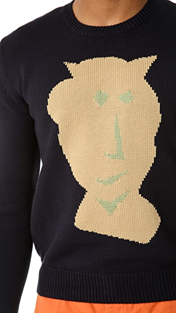 Carven Mask Sweater