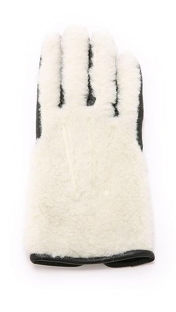 Carven Teddy Gloves