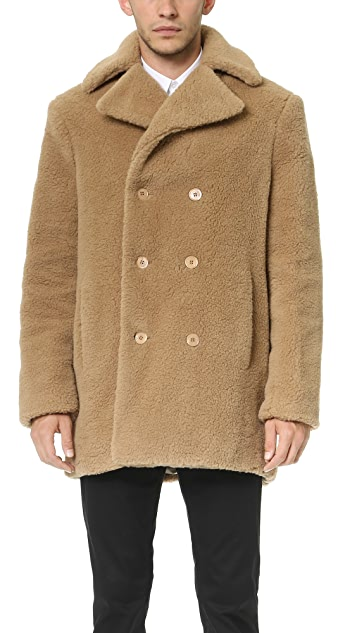 Carven Caban Coat