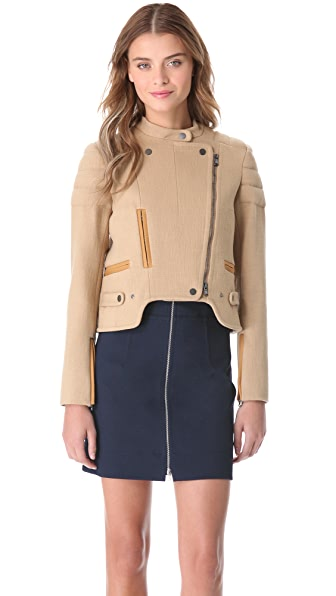 Carven Shaped Moto Jacket