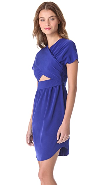 Carven Crossover Cutout Dress