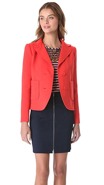 Carven Patch Pocket Jacket