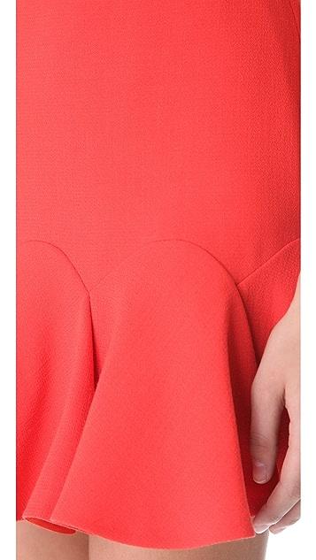Carven Double Crepe Flip Skirt