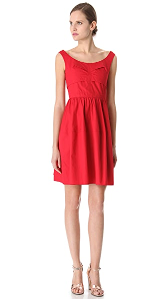 Carven Lantern Skirt Dress