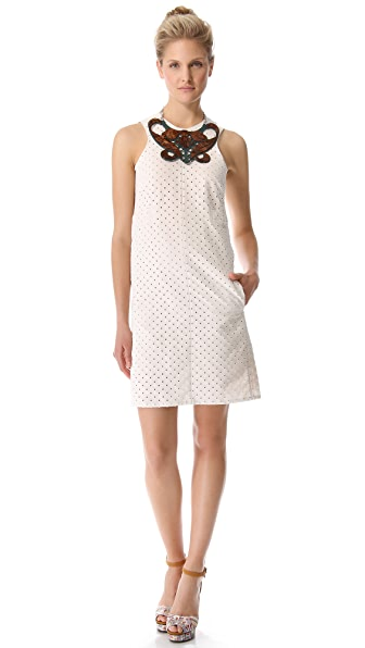 Carven Linen & Cotton Dress