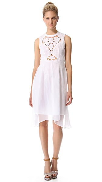 Carven Cutout Sleeveless Dress