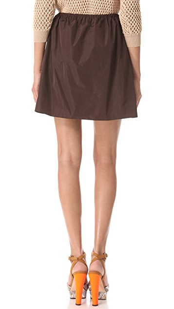 Carven Cinched Waist Skirt