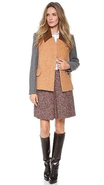 Carven Wool Swing Jacket