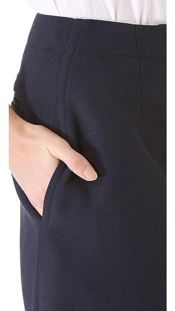 Carven Cut Hem Skirt