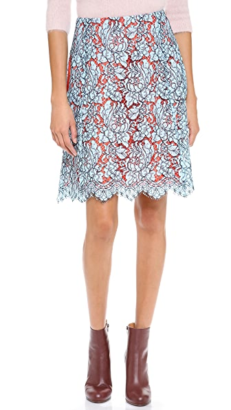 Carven Lace Skirt