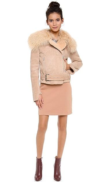 Carven Sheepskin Coat