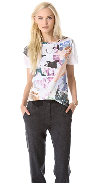 Carven Print Jersey Tee