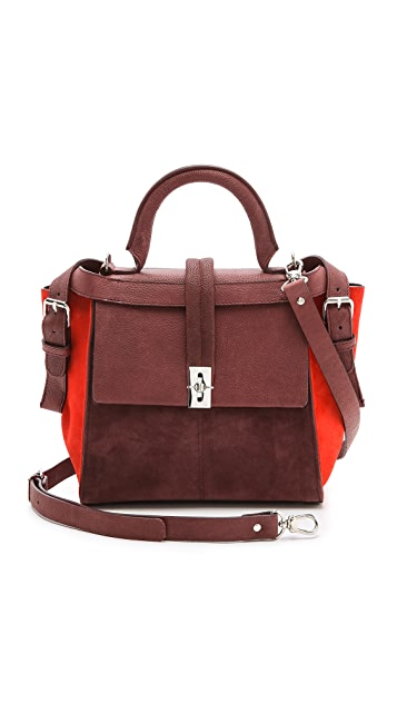 Carven Suede Handbag