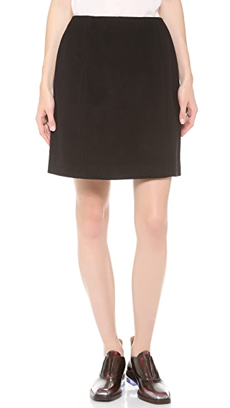 Carven Simple Wool Skirt