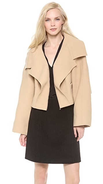 Carven Short Compact Wool Jacket