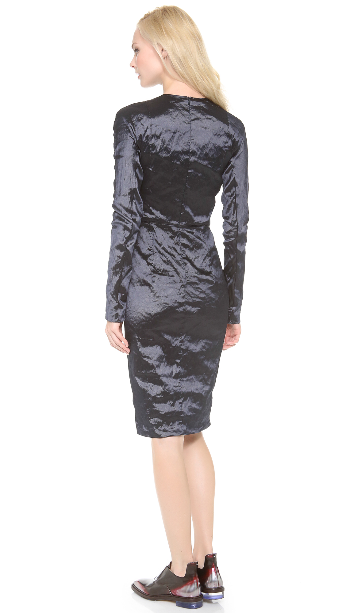 Carven Crinkle Taffeta Dress | SHOPBOP
