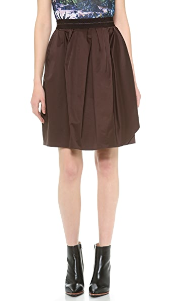 Carven Satin Skirt