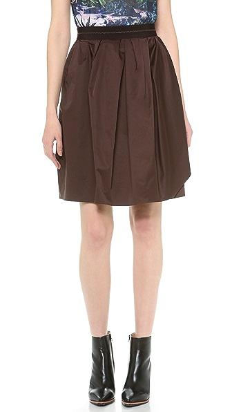 Carven Satin Skirt