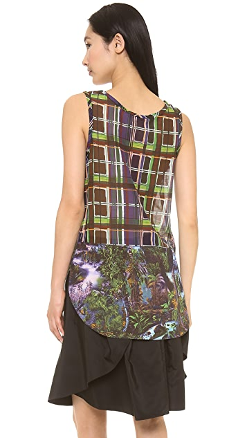 Carven Printed Tank