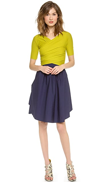 Carven 3/4 Sleeve Dress