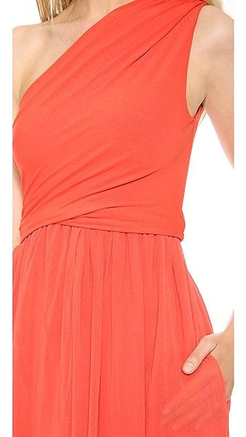 Carven One Shoulder Gown