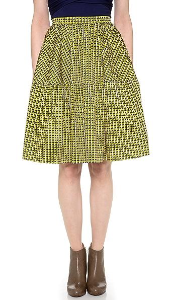Carven Poplin Skirt