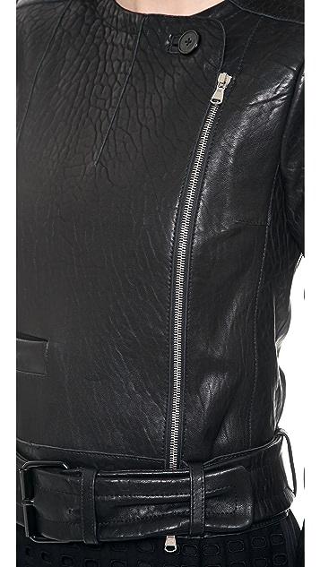 Carven Leather Jacket