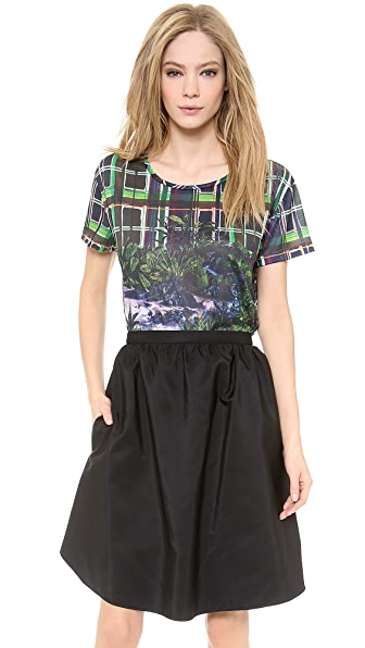 Carven Printed Top