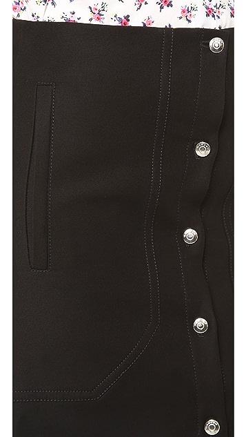 Carven Cotton Miniskirt