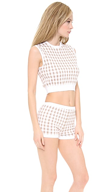 Carven Sleeveless Knit Top