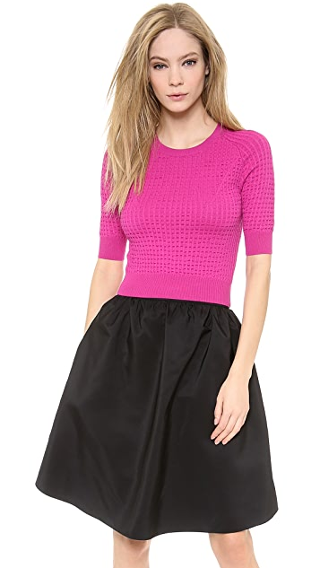 Carven Technical Knit Sweater