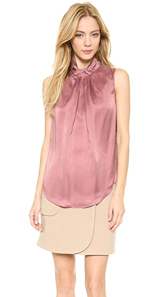 Carven Satin Top