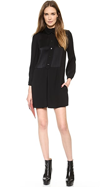 Carven Long Sleeve Dress